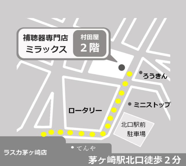 ミラックスの地図