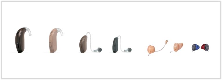 リサウンド補聴器のラインナップ